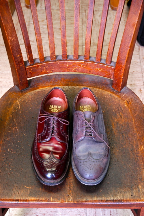 Old Longwings Alden – After and Before, The Best Depth of Color