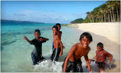 Beach Kids Boracay, Philippines via sabdesign