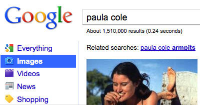 "Paula Cole is 43 today. I hope she finally found out whether it was ""yes"" or ""sorry."""