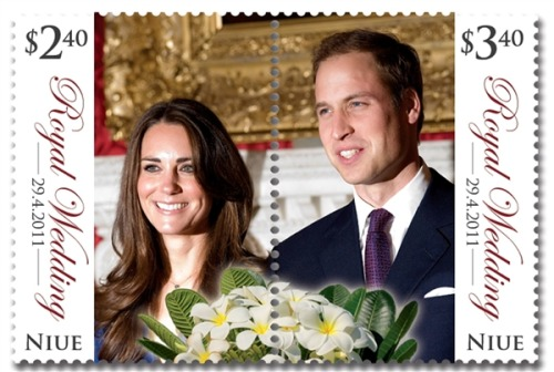 "newsweek:  today:   New Zealand stamp divides royal couple w/ perforated line ""The unintentionally awkward 5.80 NZ dollars item can be used as two stamps — except the Kate side is a 2.40 dollars stamp, while the Prince William side is a more expensive 3.40 dollars.""  Subtle.  #FAIL."