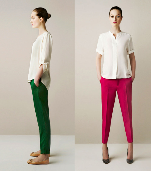 partytights:  Zara Spring lookbook