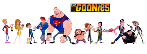 Goonies Animated by Stephen Silver