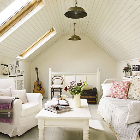 It's all about the attic A pretty and functional guest bedroom for that often unused attic space…