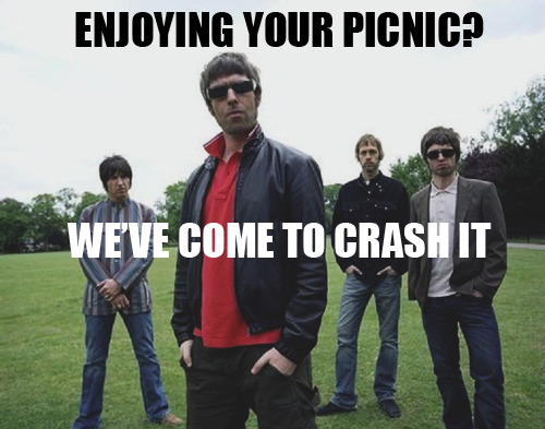 New favorite Oasis related tumblr, Oasis Captions: This site is just full of so much win. oasiscaptions:  There weren't any good parties 'round at one in the afternoon.