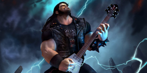 If Video Game Characters Became Rock Stars… Rock stars showing up in video games is relatively commonplace, but when was the last time you saw a two-dimensional, pixelated video game hero playing in a real live rock band? With that in mind, let's take a look at some of the most popular video game characters over the years and speculate on what direction their musical careers might have taken, had things gone differently.