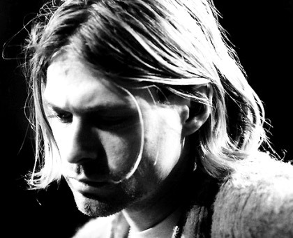 RIP Kurt.  And I can't believe 17 years ago today, I was in 7th grade building a shrine to Kurt Cobain in my locker after hearing Kurt Loder and Courtney Love on MTV break the news.  I am seriously old.