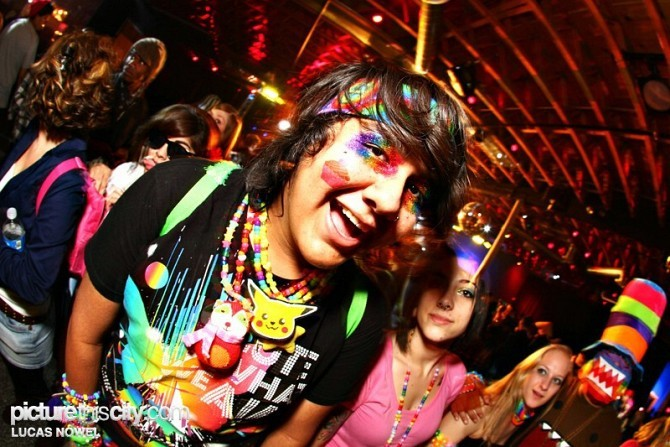 Me at Rainbow Brite and the Kandi Kids 3. Photo by Lucas Nowel