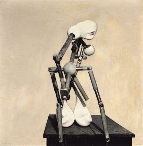 salvaged:   Hans Bellmer - Machine Gun(neress) in a State of Grace, 1937  via eraseourhead