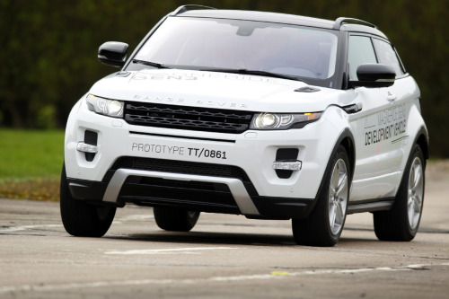 On first acquaintance, the Range Rover Evoque augers well for Land Rover, but I think  it sends a more significant message  than that: there is a determined  ambition within everyone at Land Rover to  achieve levels of engineering  and design that was denied to them by previous  owners such as BMW and Ford.