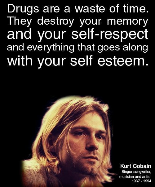Kurt Cobain (1967 - 1994)American singer-songwriter, musician and artist, best known as the lead singer and guitarist of the grunge band Nirvana.