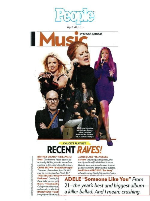 Check out Adele featured in People Mag!