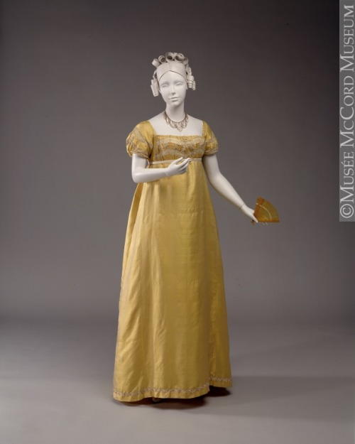 Dress, ca 1810, Musee McCord