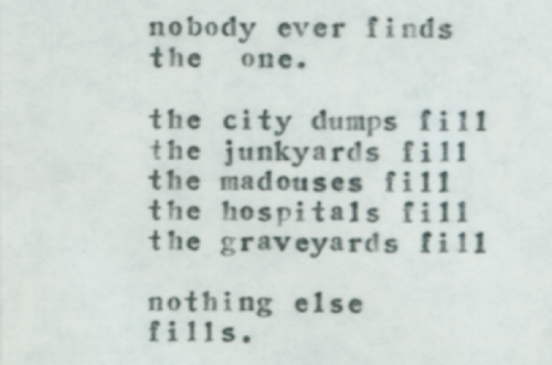 Alone With Everybody, Charles Bukowski