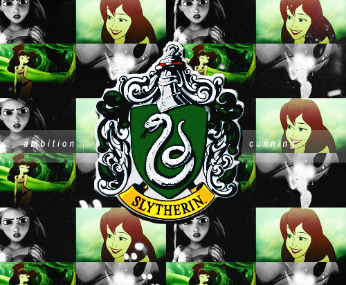 """Or perhaps in Slytherin,You'll make your real friends,Those cunning folk use any means,To achieve their ends."""