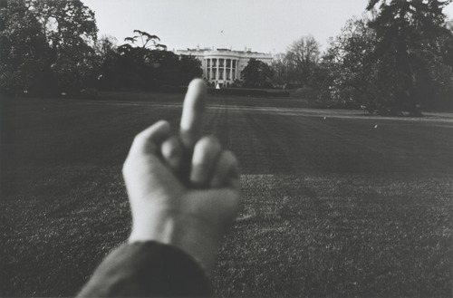 Ai WeiweiStudy of Perspective - White House1995-2003 (@ MoMA)