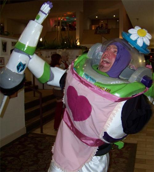 thedailywhat:  Today On TDW: Geek — Above: Mrs. Nesbitt cosplay.
