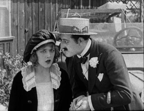 mildreddavis:  Mildred Davis and William Gillespie in Haunted Spooks (1920)