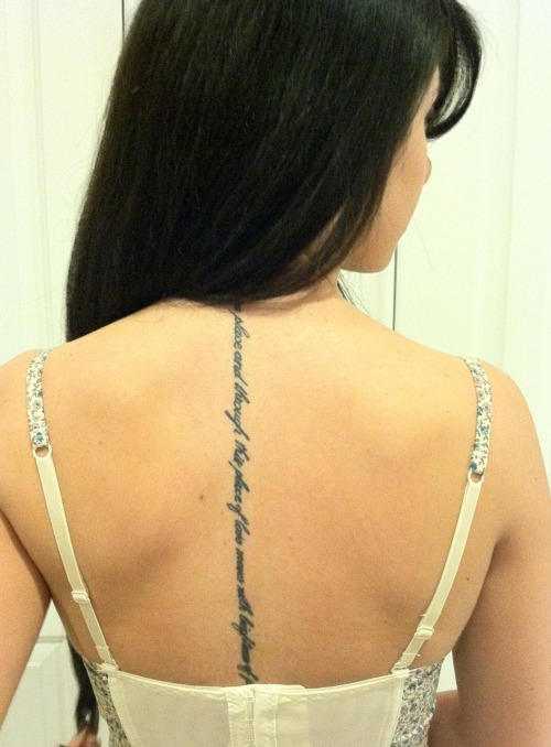 "fuckyeahtattoos:  ""Love is a place and through this place of love moves with brightness of peace"" - E.E Cummings."