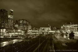 Train Tracks // Photograph by Jocelyn Leong. Docklands, Melbourne. ©2011.