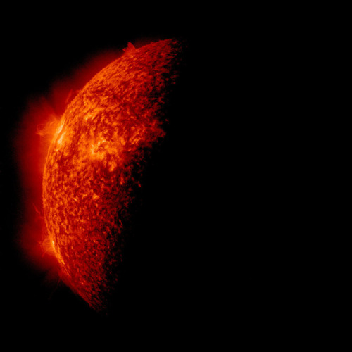 The Sun Does Spectacular Disappearing Act : Big Pic : Discovery News