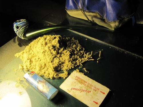 Oh, ya know, just 2oz of keif.