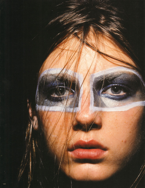 Jil Sander spring 1998 ad campaign with Angela Lindvall, photographed by David Sims