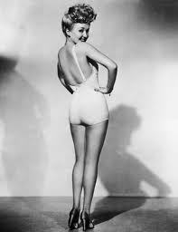 hourglass-inspiration:  This is Betty Grable, the original Pin Up girl.