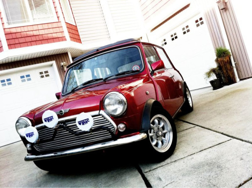 Just a picture of my other Mini Cooper. Sorry for the size, its from my iPhone.
