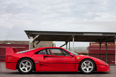 alexpenfold:  The Best Horse. on Flickr.  Ah, the F40. When Ferraris weren't computer-controlled vehicles with all the beauty of a Starship Troopers bug.