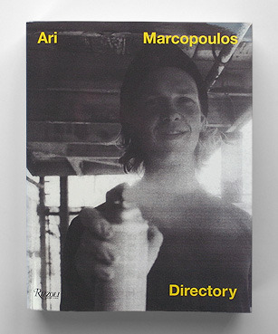 DirectoryAri Marcopoulos (New York, USA) 1200 PagesSoft Cover21.6 x 27.6 cmb/w OffsetFirst Edition2011Publisher Description: Ari Marcopoulos's unique style of raw immediacy has made him one of the most important contemporary photographers. For thirty years, photographer Ari Marcopoulos has been pioneering contemporary photography by documenting subcultures such as skateboarders and graffiti artists, as well as landscapes and his own family and friends. Since his days printing photographs for Andy Warhol, he has amassed a huge body of work marked by its arresting and unsentimental intimacy that has been influential to the worlds of art, fashion, and photography.Bound to mimic a phone book, Ari Marcopoulos: Directory presents a collection of approximately 1,200 photographs, with curator and critic Neville Wakefield providing insightful commentary on some of Marcopoulos's singular images. Copublished withRizzoli, each book in this limited-edition series includes a print signed by the artist.  Check out the book preview here