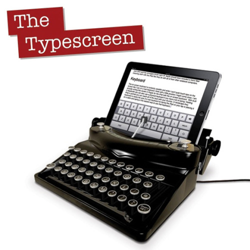 The Typescreen is an April Fool's, which turns your iPad into a typewriter (cool idea!)