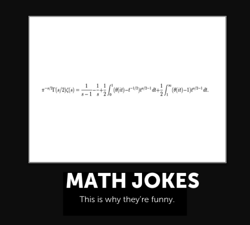 Knewton's @jdavies1618 explains math jokes.