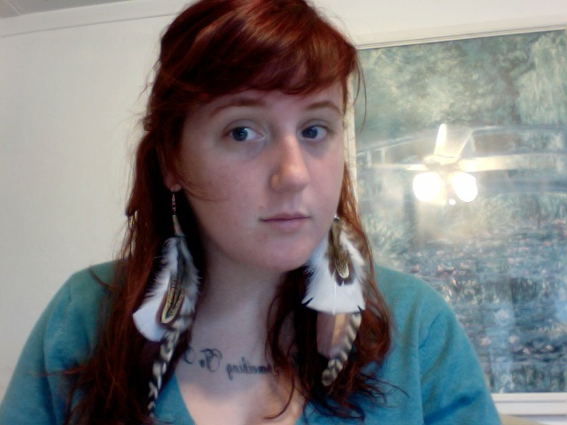 Look at these amazing earrings NessaKei just made! They are ridiculous. I love them… but, I have no idea when she will post them. I'll keep you updated.