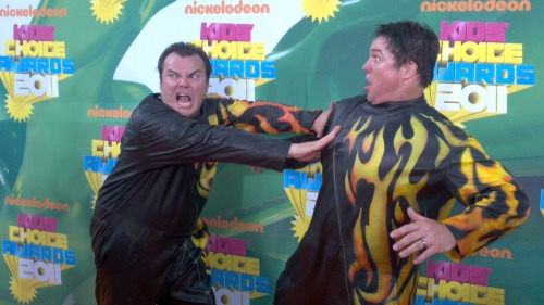 Jack Black's stunt double. Kids Choice Awards 2011.