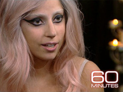 After 12 hours of downloading, I can FINALLY watch Lady GaGa's 60 Minutes interview! Holla