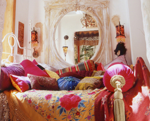 My Bohemian Home ~ Bedrooms and Guest Rooms sweethomestyle:  by AphroChic