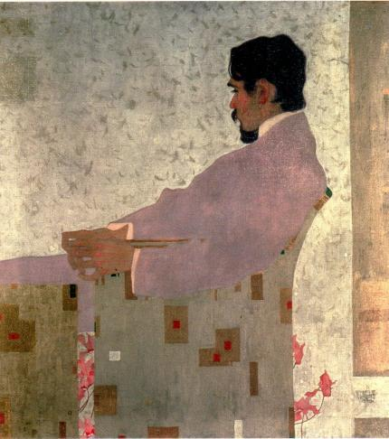 egonschiele:  Portrait of the Painter Anton Peschka, 1909 - Egon Schiele