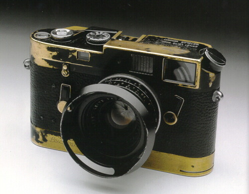 The Leica M4 used by Jim Marshall, 60s and 70s music photographer of Jimi Hendrix, Johnny Cash, Janis Joplin, et. al.