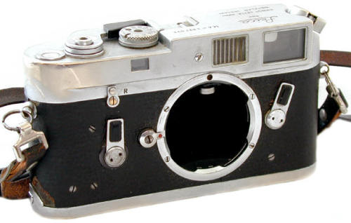The Leica M4 used by photographer Garry Winogrand.