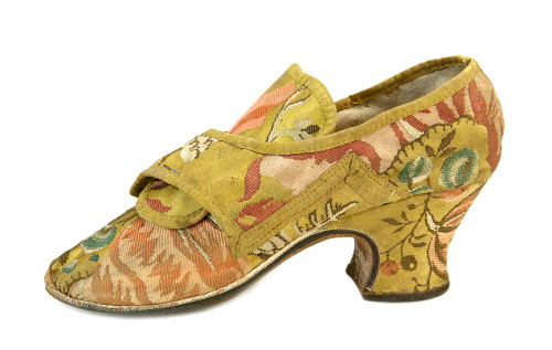 Shoes, ca 1740, Shoe-Icons