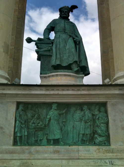 "Coloman of Hungary, who prohibited the burning of witches with the phrase ""As for the matter of witches, there is no such thing, therefore no further investigations or trials are to be held."""
