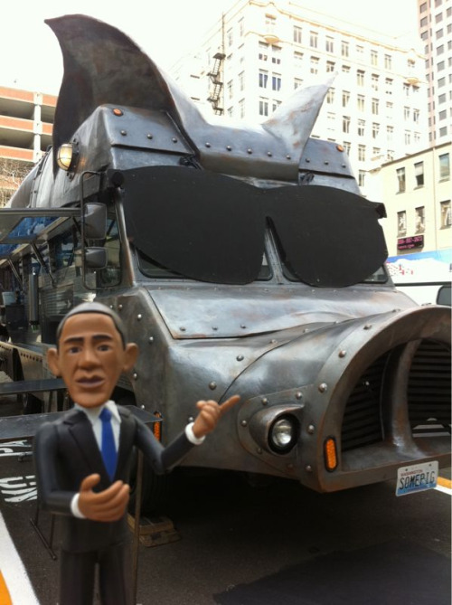 Seattle's Maximus/Minimus is Barack's favorite food truck! Deeelish pulled pork sammies, go get one!