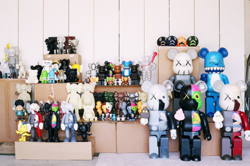 Collection of KAWS