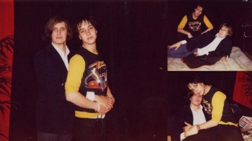 fuckyeahjuliancasablancas:  I love this.  I wish there were recent pictures like this. Actually, rephrase. I wish the old times were the recent times.