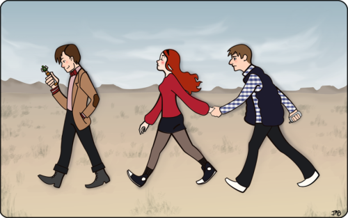 doctorwhofanart:  Eleven + Co. By Jb-612