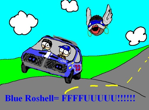 "Here is Roshell.  A whole new level of ""FFFFFFUUUU"""