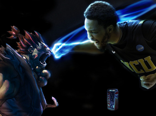 Brandon Rozzell. Akuma. Crystal Pepsi. The final fight for the last Crystal Pepsi on Earth. (via Ollie Cortum)