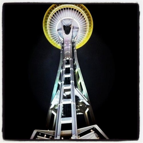 NightNeedle (Taken with Instagram at Seattle)
