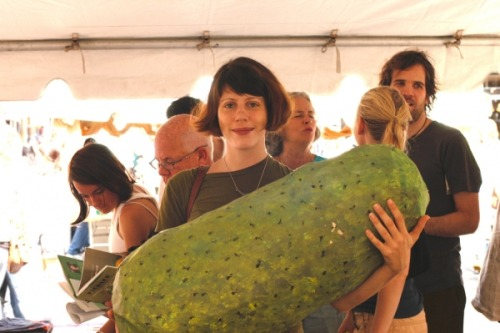 Holy shit, that's a big ass pickle.