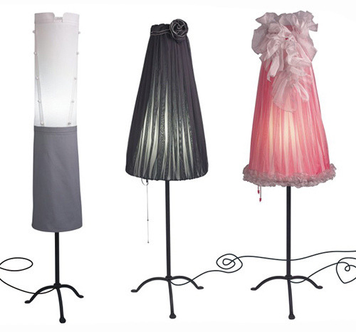 sweethomestyle:  Funky Floor Lamps by Angelika Morlein
